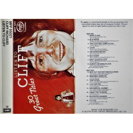 Listen to Cliff (Cliff Richard)