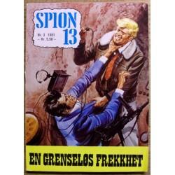Spion 13: 1981 - Nr. 3 - En grenseløs frekkhet