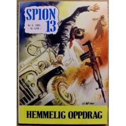 Spion 13: 1981 - Nr. 5 - Hemmelig oppdrag