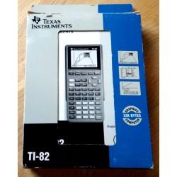 Texas Instruments TI-82 Graphics Calculator - I eske