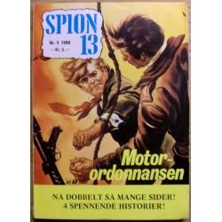 Spion 13: 1980 - Nr. 5 - Motor-ordonnansen
