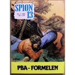 Spion 13: 1982 - Nr. 2 - PBA-formelen