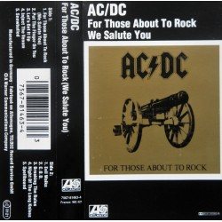 AC/DC- For Those About To Rock We Salute You