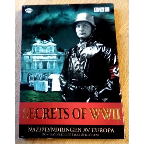 Secrets of WII - Naziplyndringen av Europa (DVD)