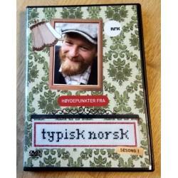 Høydepunkter fra Typisk norsk - Sesong 1 (DVD)