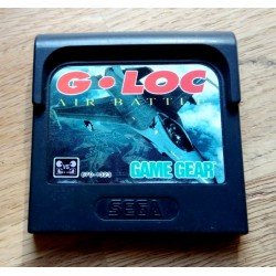 SEGA Game Gear: G-Loc Air Battle (cartridge)