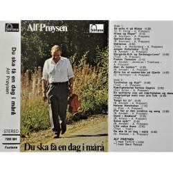 Alf Prøysen- Du ska få en dag i mårå