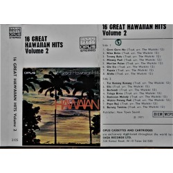 16 Great Hawaiian Hits- Vol 2