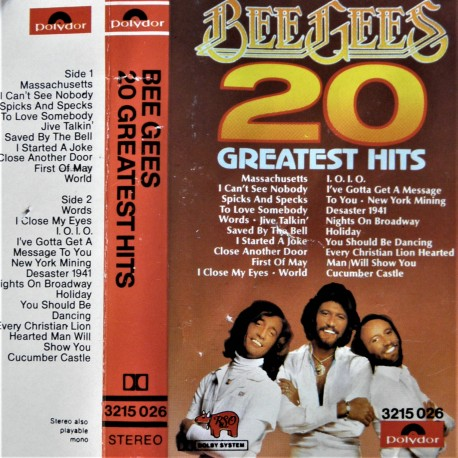 Bee Gees- 20 Greatest Hits