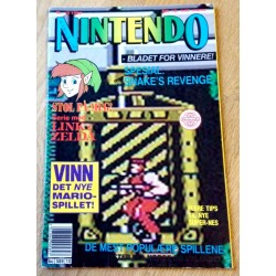 Nintendo Magasinet - 1992 - Nr. 10 - Snake's Revenge spesial