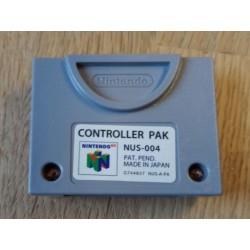 Nintendo 64: Controller Pak NUS-004 - Minnekort