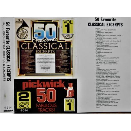 50 Classical Excerpts- Vol 1