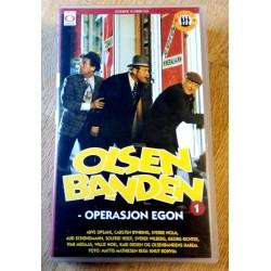 Olsenbanden - Nr. 1 - Operasjon Egon (VHS)