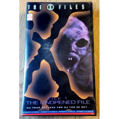The X-Files - File 1 - The Unopened File (VHS)