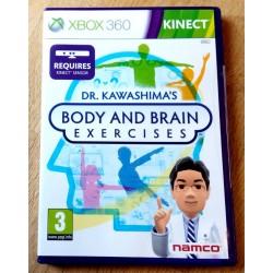 Xbox 360: Dr. Kawashima's Body and Brain Exercises (Namco)