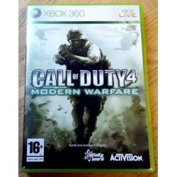 Xbox 360: Call of Duty 4 - Modern Warfare (Activision)
