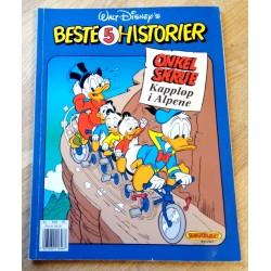 Beste 5 historier - Onkel Skrue - Kappløp i Alpene