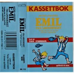 Kassettbok- Astrid Lindgren- Emil fra Lønneberget