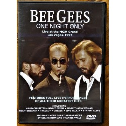 Bee Gees- One Night Only- 1997 (DVD)