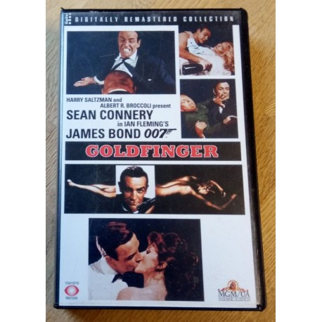 James Bond 007 - Goldfinger (VHS)