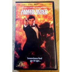 James Bond 007: James Bond i skuddlinjen (VHS)