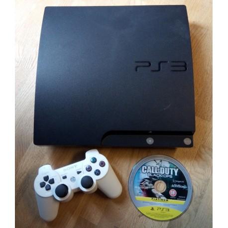 Playstation 3 Slim - 250 GB - Komplett konsoll med spill