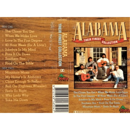 Alabama- Their finest collection