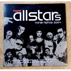 Topp Allstars - Norsk Hiphop 2004 (CD)
