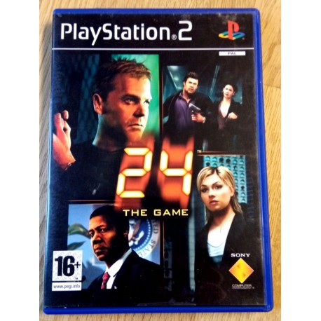 24 - The Game (Havok) - Playstation 2