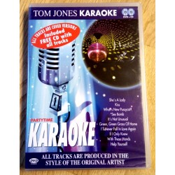 Tom Jones Partytime Karaoke - DVD and CD