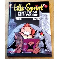 Seriesamlerklubben: Lille Sprint - Nr. 9 - Vent til du blir større (2000)