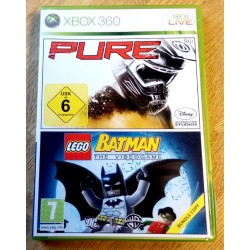 Xbox 360: Batman The Videogame og Pure