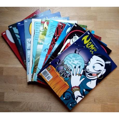 Nemi 2004 - Komplett årgang med bladene 1 til 12