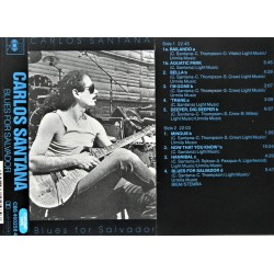 Carlos Santana- Blues For Salvador