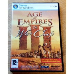 Age of Empires III - The War Chiefs (Microsoft Game Studios) - PC