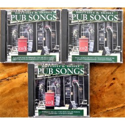 3 X CD- British & Irish Pub Songs