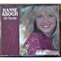 2 X CD- Hanne Krogh- 40 Beste