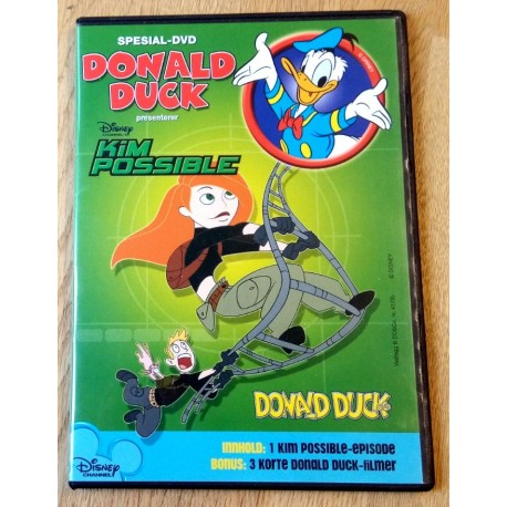 Donald Duck presenterer Kim Possible - Spesial-DVD