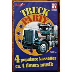 Truck Party- Flott mappe med fire kassetter