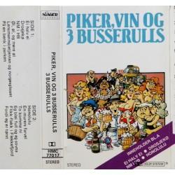 3 Busserulls- Piker, vin og 3 Busserulls