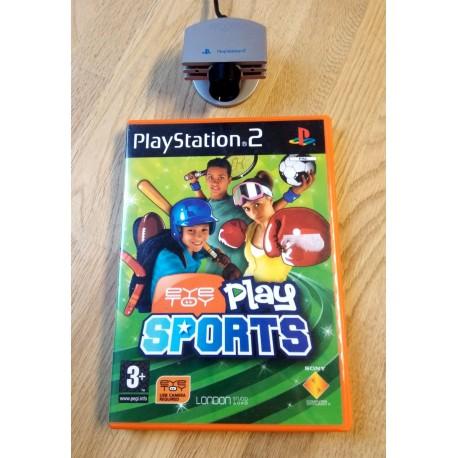 EyeToy-kamera og Play Sports - Playstation 2