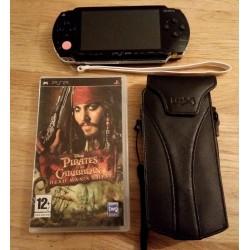 Sony PSP - Playstation Portable - PSP-1004 med spill