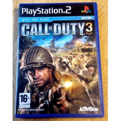 Call of Duty 3 (Activision) - Playstation 2