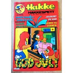 Hakke Hakkespett: 1987 - Nr. 12 - Med julekort!