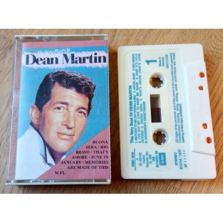 The Very Best of Dean Martin (kassett)