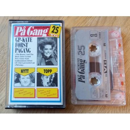 Kassettavisen På Gang - Nr. 25 - VG (kassett)