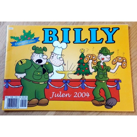 Billy - Julen 2004 - Julehefte
