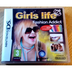Nintendo DS: Girls Life - Fashion Addict (Ubisoft)