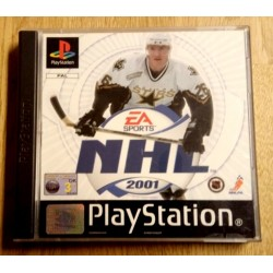 NHL 2001 (EA Sports) - Playstation 1