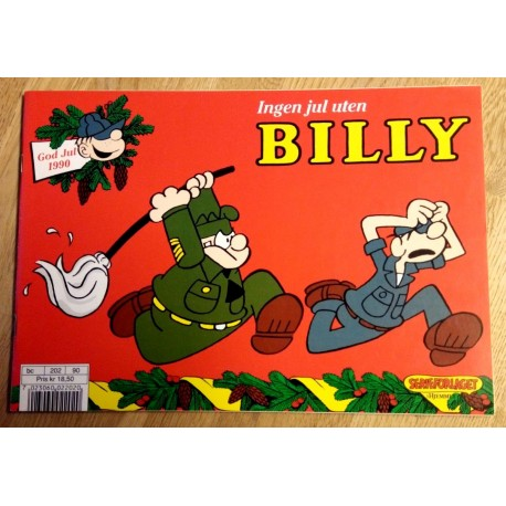 Billy: Julen 1990 - Julehefter